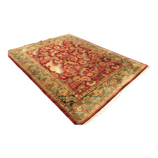 Kaleen Kashan Handknotted Area Rug - 9′4″ × 12′9″