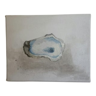 'Oyster 1' Mixed Media Painting