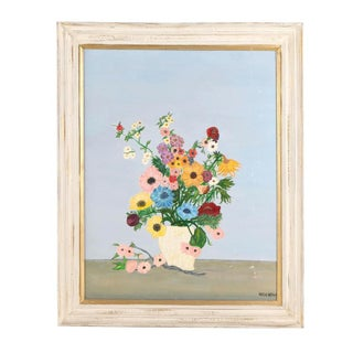 Floral Still Life Original Oil Painting on Canvas