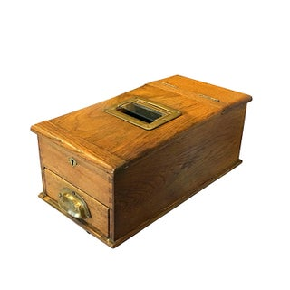 1900s English Cash Register