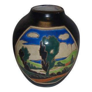 Belgium Art Nouveau-Style Vase