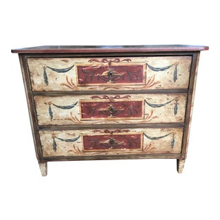 Florentine Style Painted Chest of Drawers