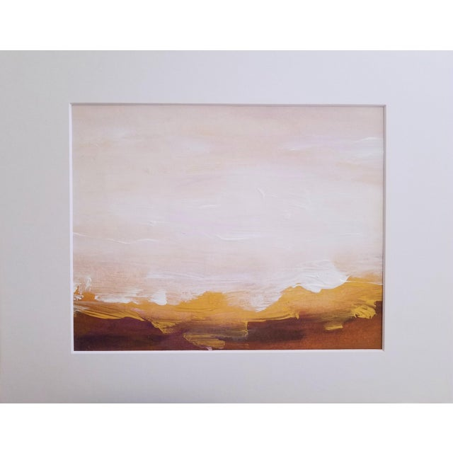 Original Abstract Landscape Painting - Image 4 of 4