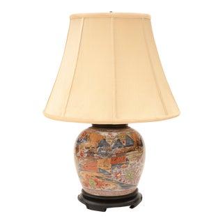 Antique Imari Table Lamp