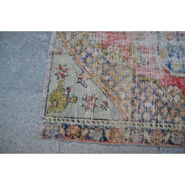 "Handmade Anatolian Tribal Rug - 45"" x 63"" - Image 6 of 6"