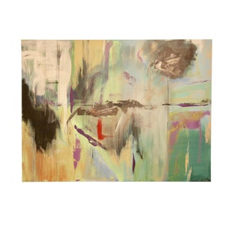 Colorful Oversized Abstract Original Signed Painting