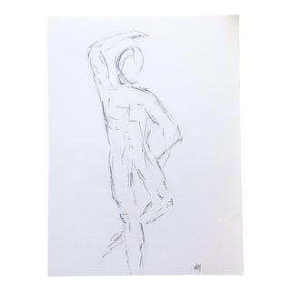 Male Dancer - Original Artist Sketch