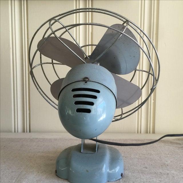 Vintage Mid-Century Oscillating Fan - Image 7 of 8