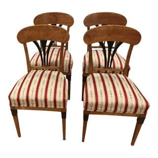 Biedermeier Dining Chairs - Set of 4