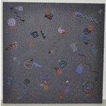 "Image of Ken Kalman ""Anasazi"" Mixed Media Wall Art C.1990"