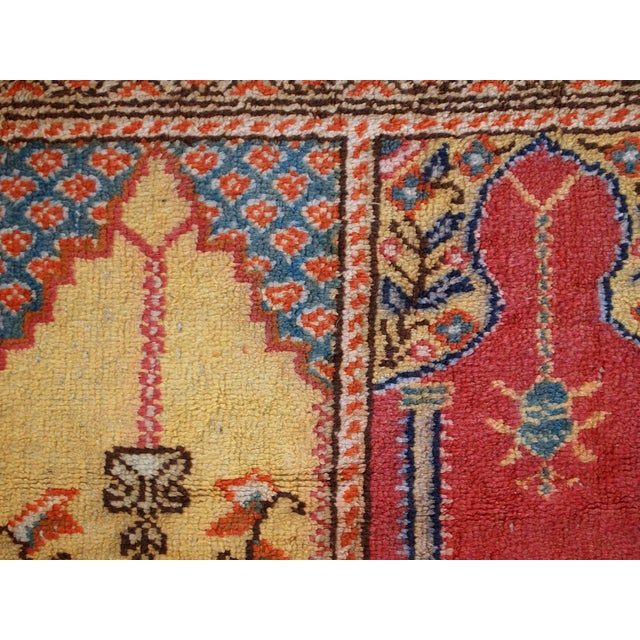 1960s Handmade Turkish Kayseri Runner - 2' X 5.6' - Image 5 of 10