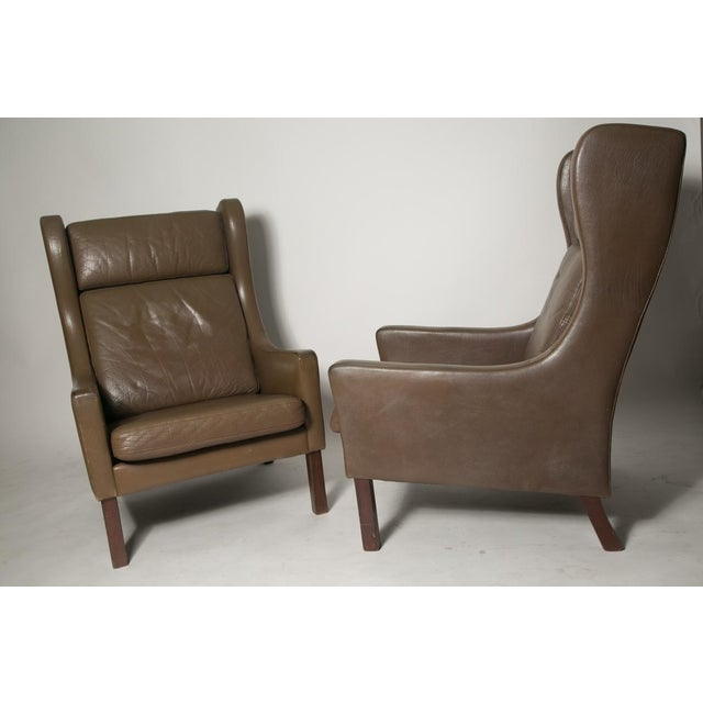 Borge Mogensen Wingback Chairs - Set of Two - Image 4 of 7
