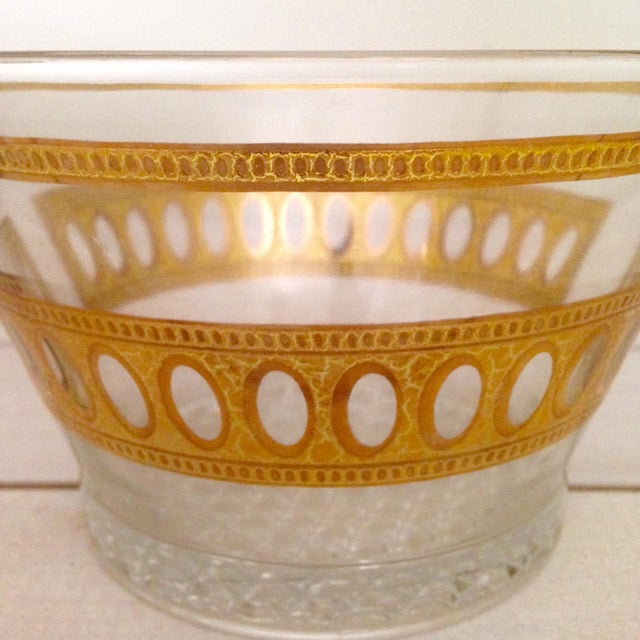 Vintage Culver Antigua Glass Bowls - A Pair - Image 7 of 8