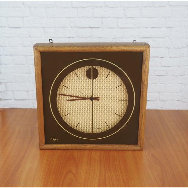 1970s Elgin Wall Clock - Image 4 of 8