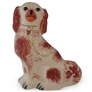 Porcelain Staffordshire Dog