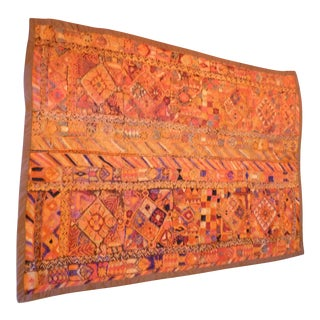Boho Chic Woven Textile / Throw
