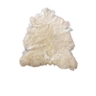 Anatolian Sheepskin Rug - 3′1″ × 4′1″
