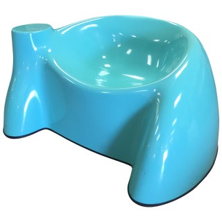 Wendell Castle Blue Fiberglass Castle Chair