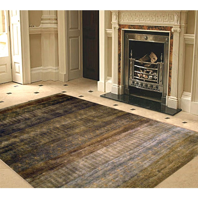 """Pasargad Modern Collection Rug - 8'2"""" X 9'6"""" - Image 2 of 2"""