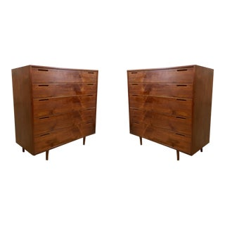 Pair of Danish Modern Teak Chests att. Ib Kofad-Larsen
