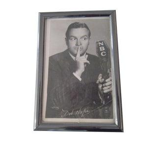 W.J. Gray Bob Hope 1940s Publicity Card