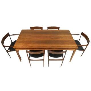 Danish Mid Century Modern Rosewood Dining Set