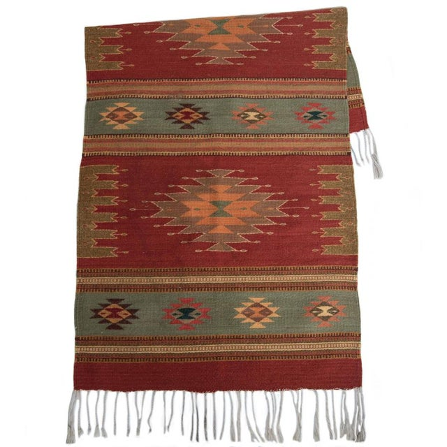 Vintage Red Zapotec Rug 2 6 Quot X 5 Chairish