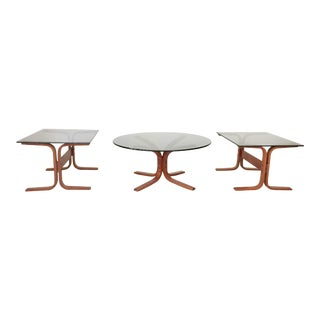 Mid-Century Modern Siesta Tables by Westnofa - Set of 3