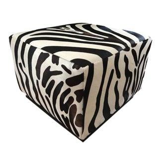 Ralph Lauren Home Modern Hollywood Zebra Ottoman