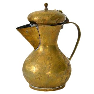 Vintage Brass & Copper Pitcher