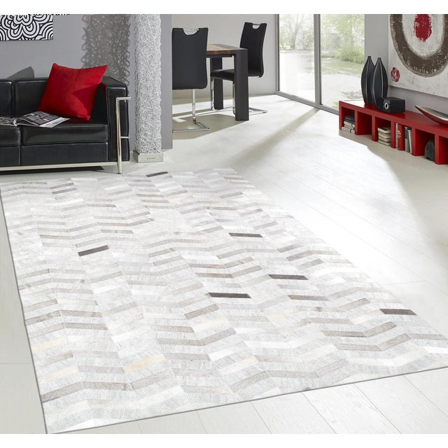 Image of Pasargad Custom Made Cowhide Rug - 5' X 8'