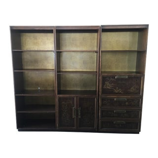 Vintage 1980's Drexel Chinoiserie Bookcase - 3