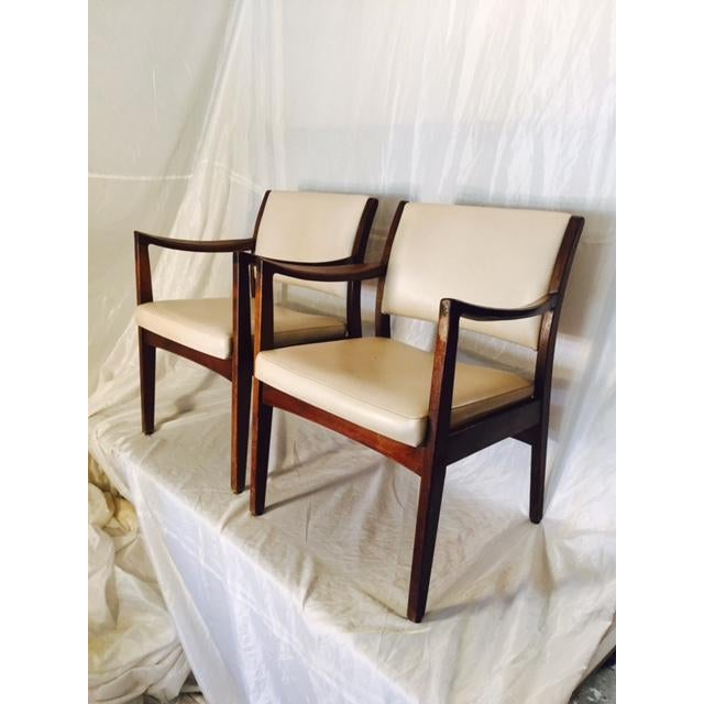 Vintage Mid-Century Johnson Chairs - A Pair - Image 2 of 6