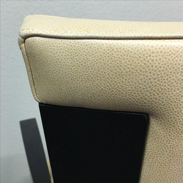 Dakota Jackson Ocean Leather Chair - Image 5 of 10