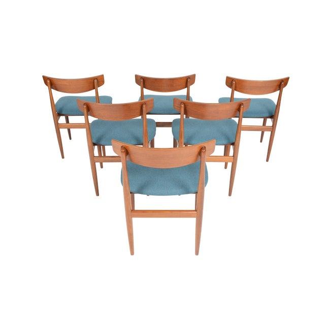 Ib Kofod- Larsen for G Plan Teak Dining Chairs - Set of 6 - Image 2 of 8