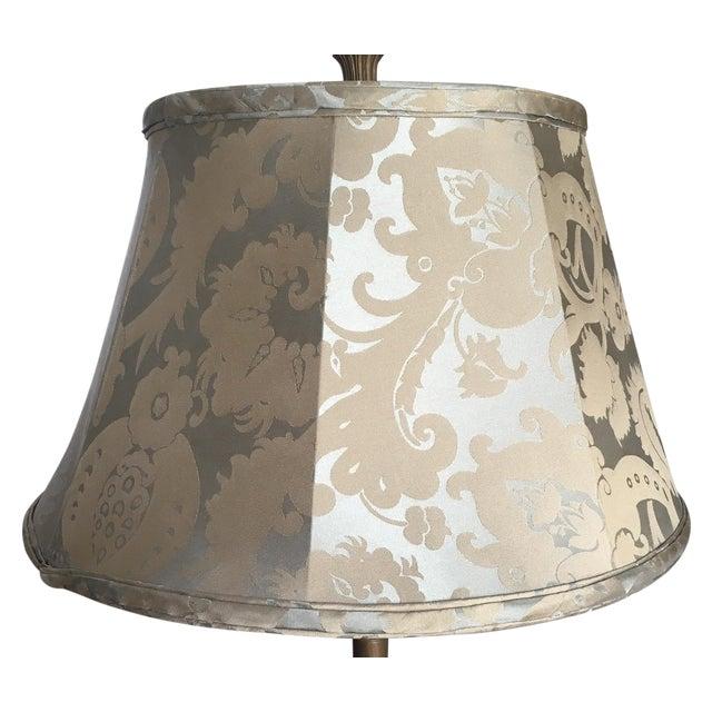 Silk Jacquard Lamp Shade Chairish
