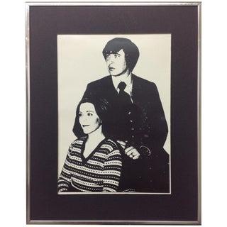 1976 Monochrome Silver Gelatin Portrait