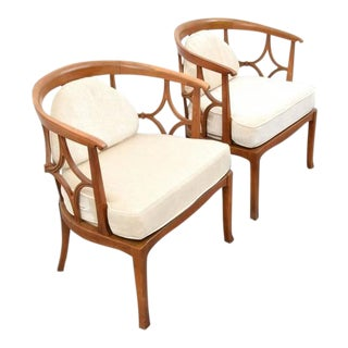 Pair of William/Billy Haines Lounge Chairs, 1960s, USA
