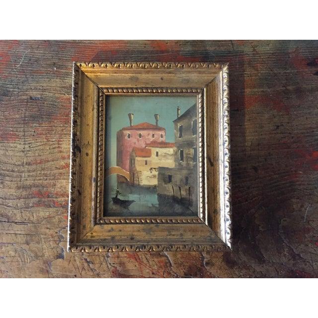 Small Framed Italian Artwork - Image 2 of 7