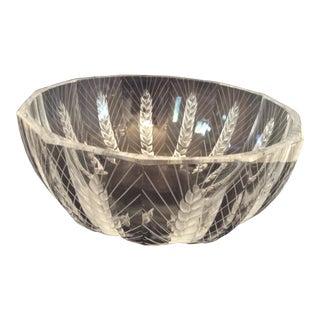 Lalique Ceres Etched Bowl