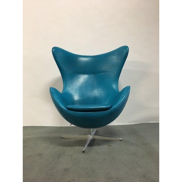 Fritz Hansen Arne Jacobsen Egg Chair - Image 4 of 7