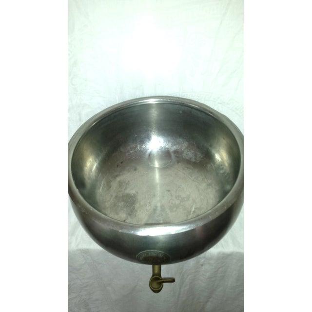 Vintage Industrial Dairy Cream Separator Bowl - Image 6 of 8
