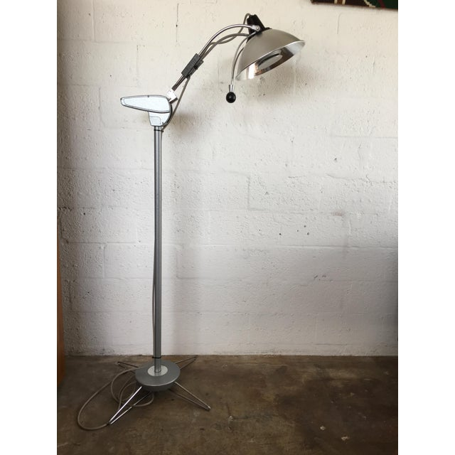 Vintage Industrial Medical Exam Light Floor Lamp By Wimont