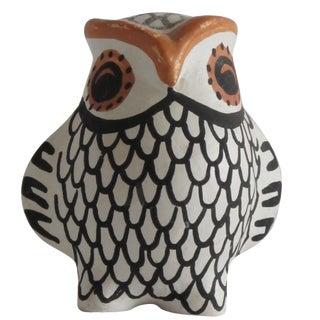 Acoma Ceramic Owl