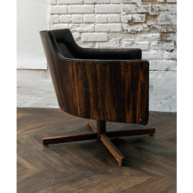 Gucci-Style Swivel Chair - Image 4 of 9
