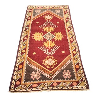 Bellwether Rugs Vintage Turkish Oushak Rug - 3' x 6'1""