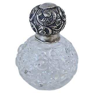 English Sterling-Top Perfume Bottle