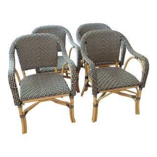 Palecek Patio Terrace Chairs - Set of 4