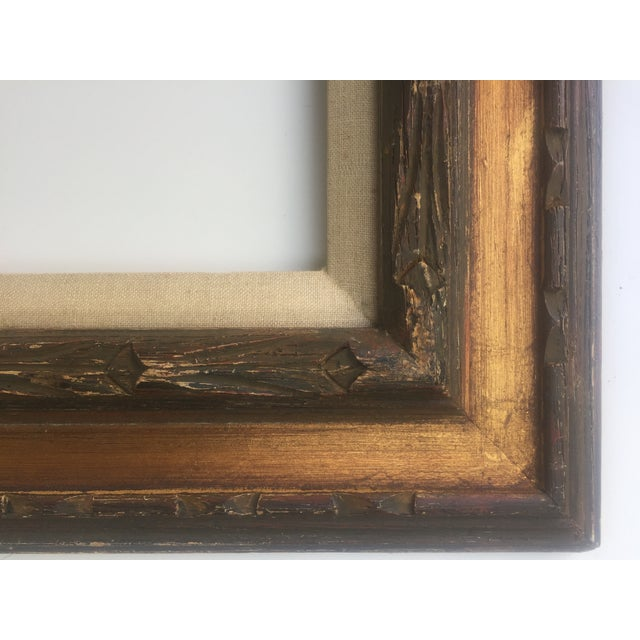 Mid Century Gold Frame Chairish