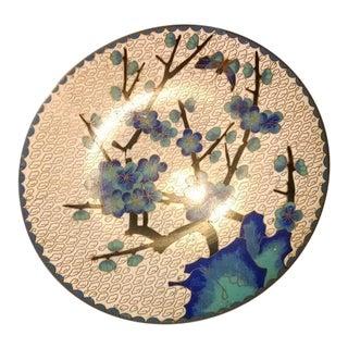 Mid-Century Copper Enamel Plate